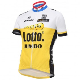 Bianchi Lotto Jumbo jersey